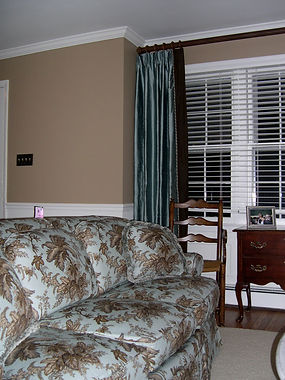 slipcover, sofa, curtains, drapery, blinds