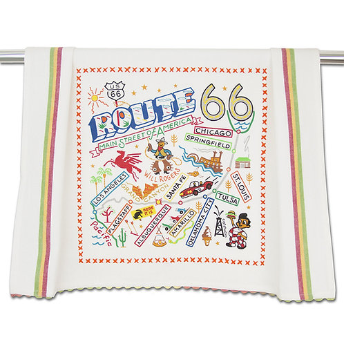 Route 66 Tea Towel