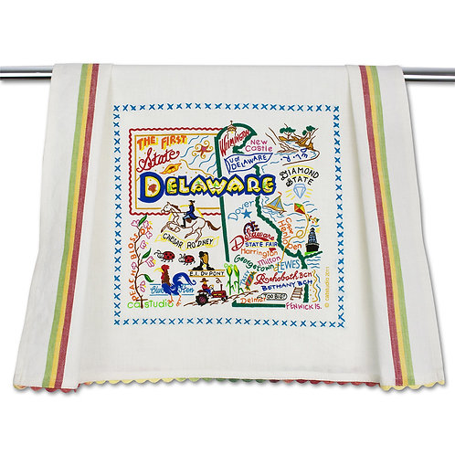 Delaware Tea Towel