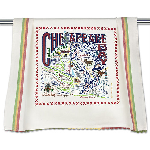 Chesapeake Bay Tea Towel