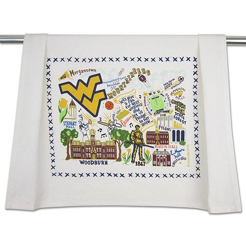 West Virginia University Tea Towel