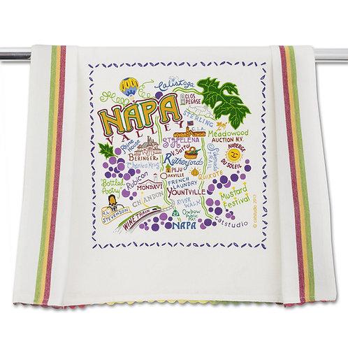Napa Valley Tea Towel