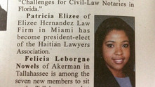 Our Partner, Patricia Elizee, was featured in the Florida Bar's News Paper.
