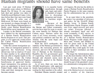 Our Partner, Patricia Elizee, was featured in the Florida Keys Key Noter!