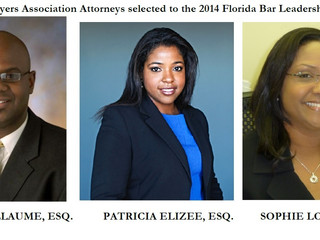 Haitian Lawyers Association Attorneys Selected to the Florida Bar Leadership Academy
