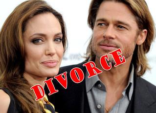 Angelina Jolie files divorce papers!