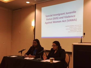 Our Partner, Patricia Elizee, was a speaker at the Immigration Nuts and Bolts of Immigration Defense