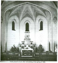 Spring of 1966 Remodel