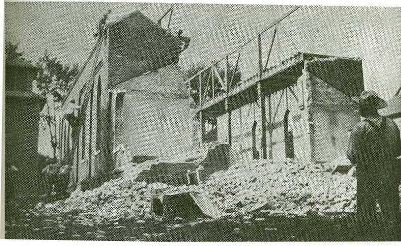 Tearing Down 1st Church