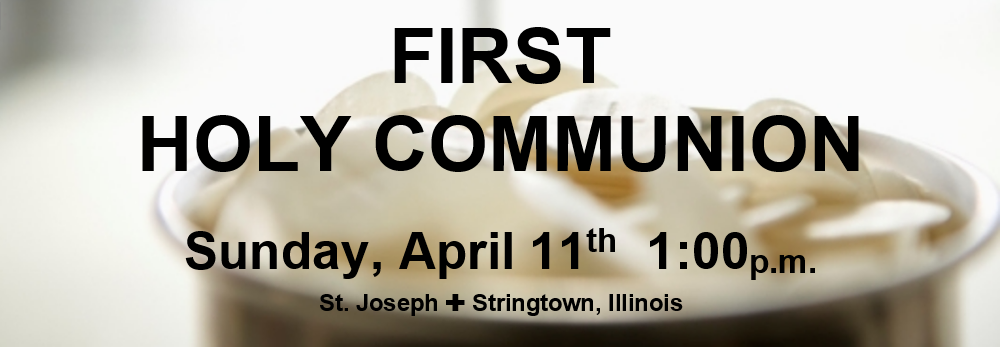 FirstCommunionStringtown