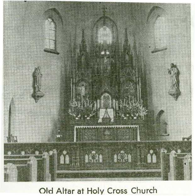 Altar in New Church