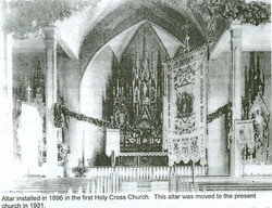 First Holy Cross Altar