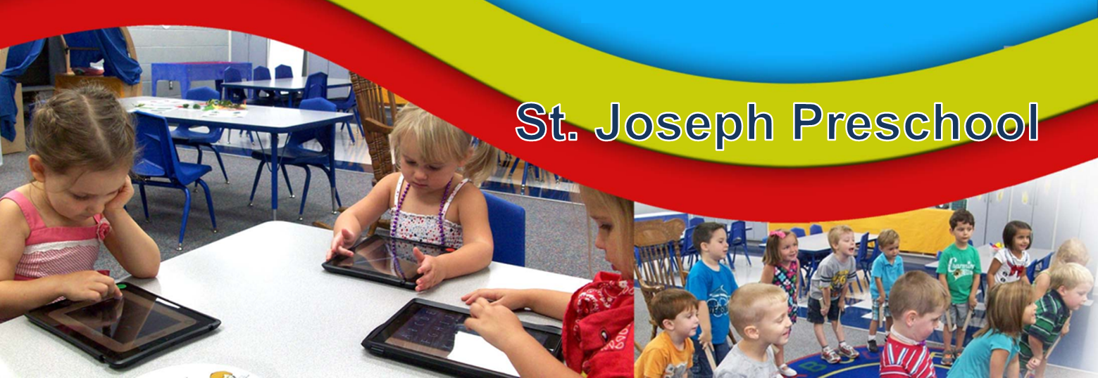 St. Joseph School Preschool Banner