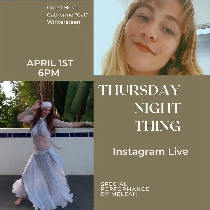 Night Thing Special Belly Dance Performance with Meleah