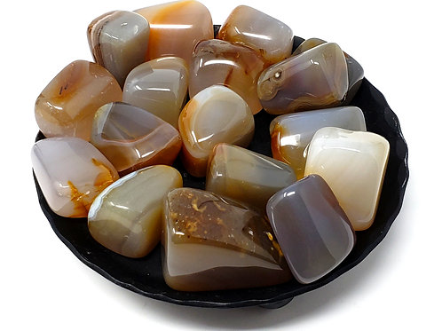 Tumbled Carnelian to Unlock Your Creativity, Pleasure, Sensuality, and Passion