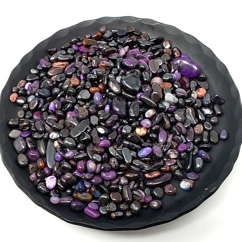 Tumbled Mini Sugilite for Healing Protections, Grounding, and Rituals