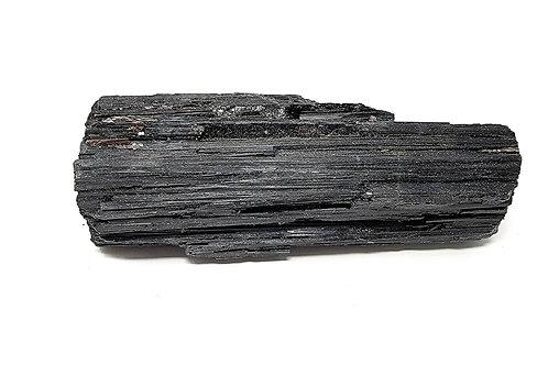 Natural Black Tourmaline High Grade Showpiece - Protection, Grounding, Calm