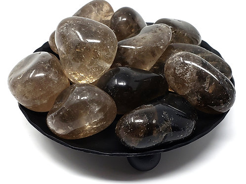 Tumbled Smoky Quartz For Protection, Purification, And Transmutation