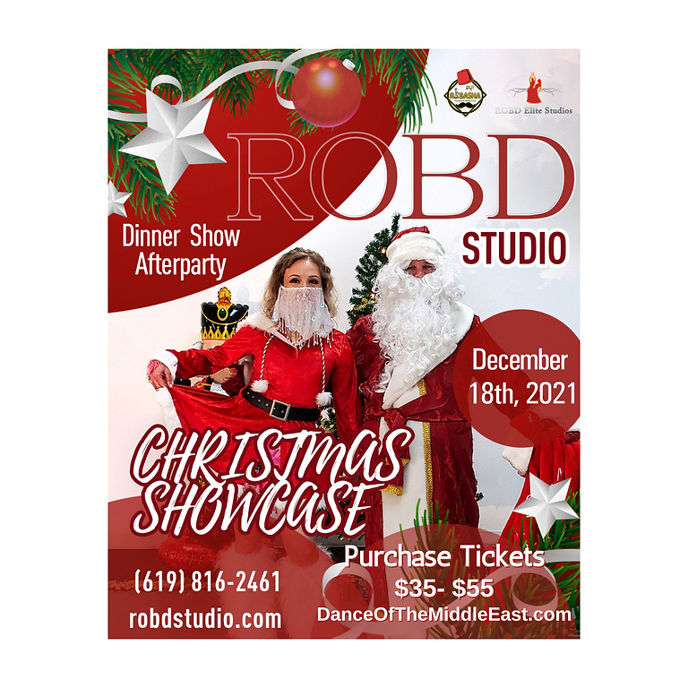 ROBD Studio Christmas Showcase - Dinner Show and After Party
