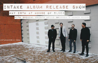 ALBUM RELEASE SHOW AT HOUSE OF BLUES!