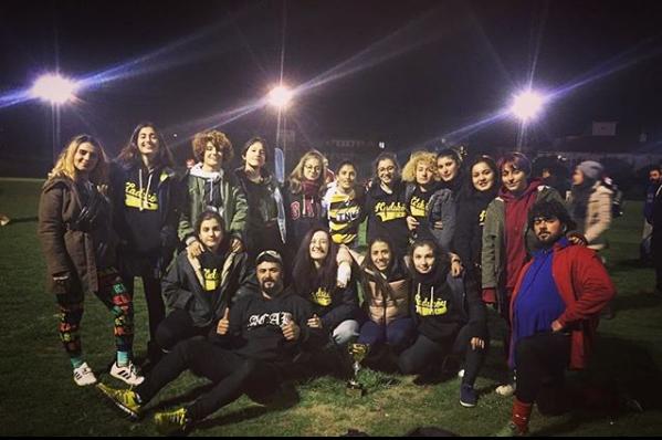 3. Mehmet Yağcı Yedili Ragbi Turnuvasında İkincilik Kadıköy Ladies'in