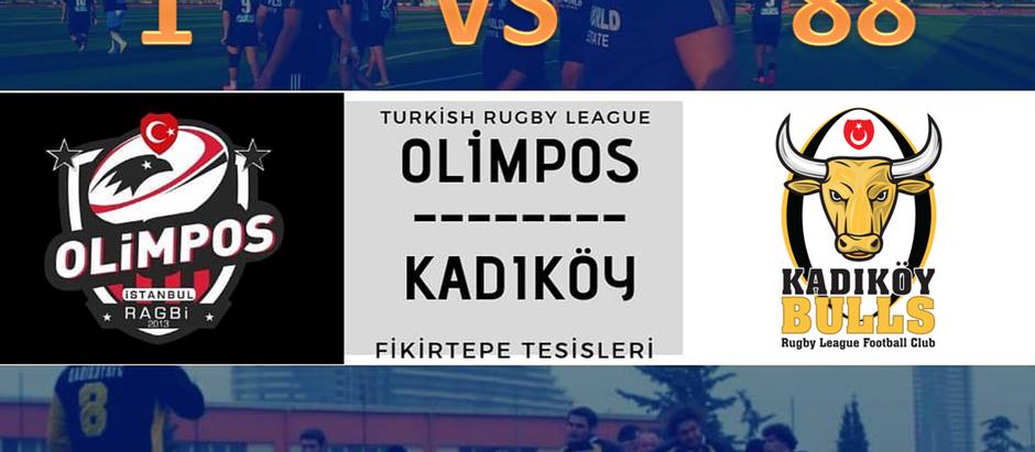 Kadıköy Rugby 88 - 1 Olimpos RK