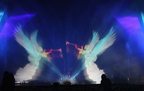 La Merveille des eaux  Water screen ange
