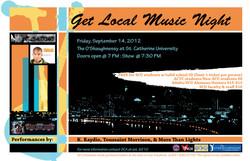 Get Local Music Night 1