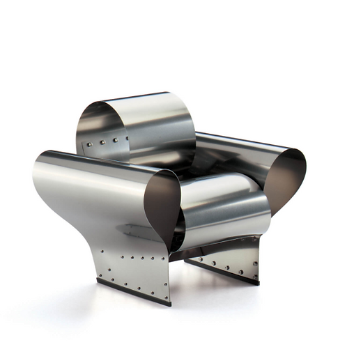 Ron Arad Well Tempered Chair 1986 Miniature