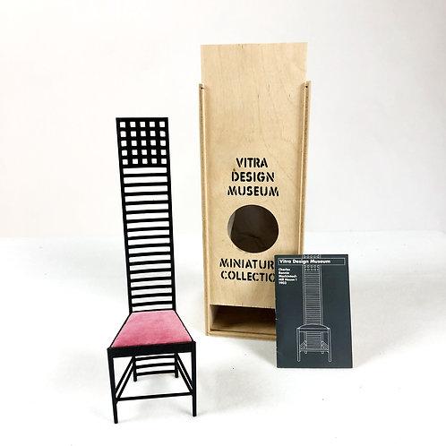 Mackintosh Hill House Chair Miniature
