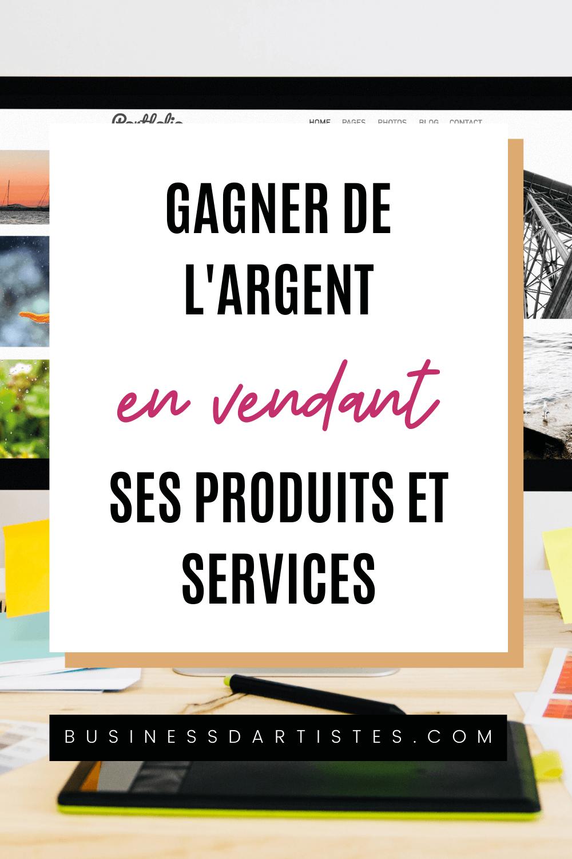 vendre ses produits en services en ligne