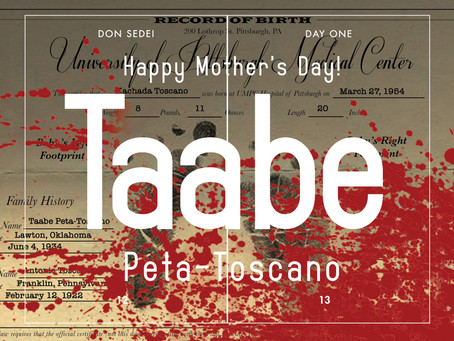 Happy Mother's Day Taabe!