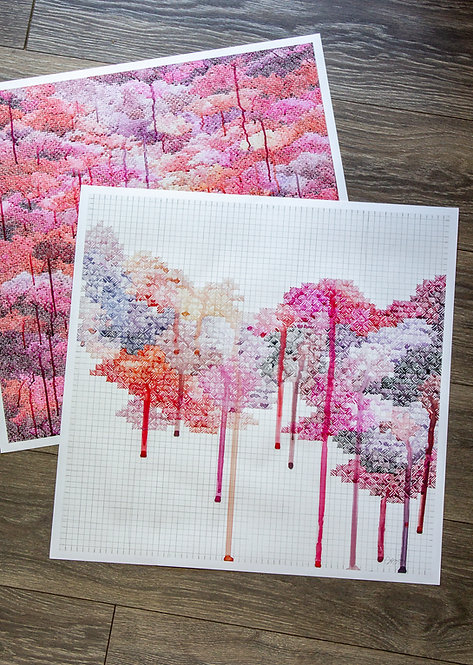 """Exhale"" Paper Print"