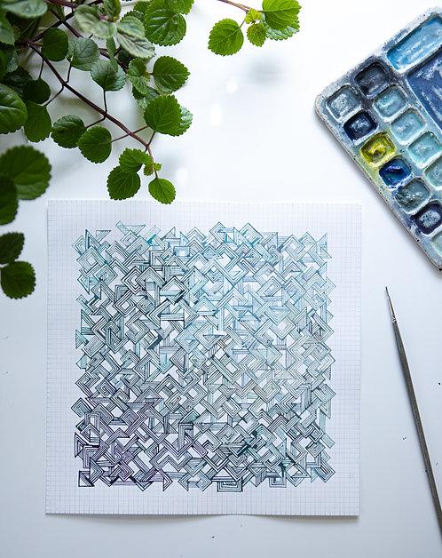 """""""Angles Pattern Study 003"""""""