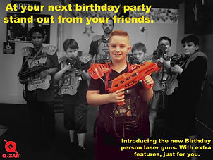 laser tag near me, birthday party ideas |Kids birthday parties laser tag and vr