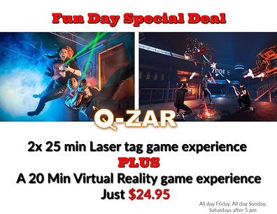 laser tag and virtual reality coupon