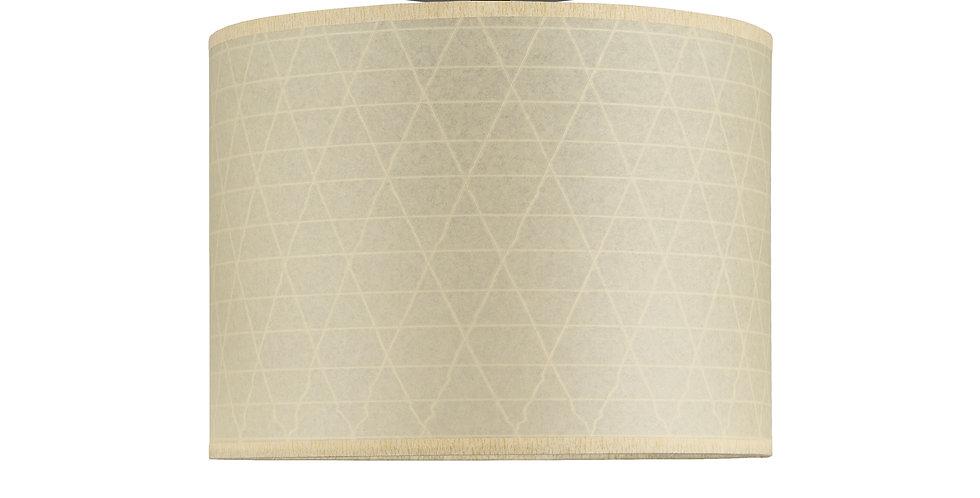 Lámpara de techo (plafón) Taiko 1CP Crema en relieve