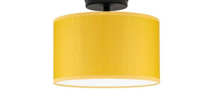 Lámpara de techo (plafón) con tres bombillas Doce S 1_CP Mostaza