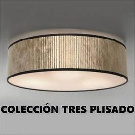 bulb attack lámparas tres plisado plafon