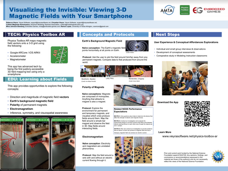 Presentation @ AAPTWM20: Visualizing the Invisible, Viewing 3-D Magnetic Fields with Your Smartphone