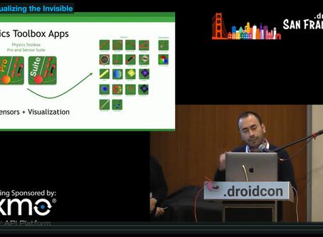 Presentation @ DroidConSF: ARCore - Visualizing the Invisible