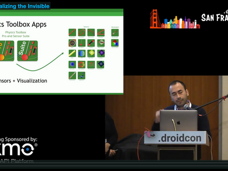 Presentation @ DroidConSF: ARCore - Visualizing the Invisible