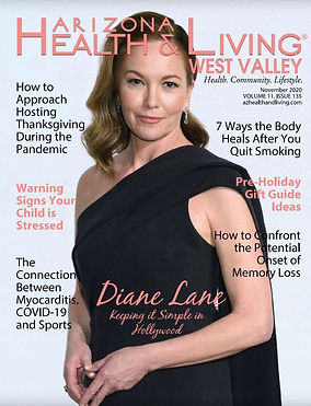 AZ Health & Living Magazine Cover - Nov