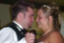 PDJ Shawn Hurd & his Wife Jenn on thier wedding day