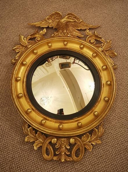 Victorian Convex Mirror