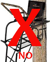 No More Tree Stands Please!
