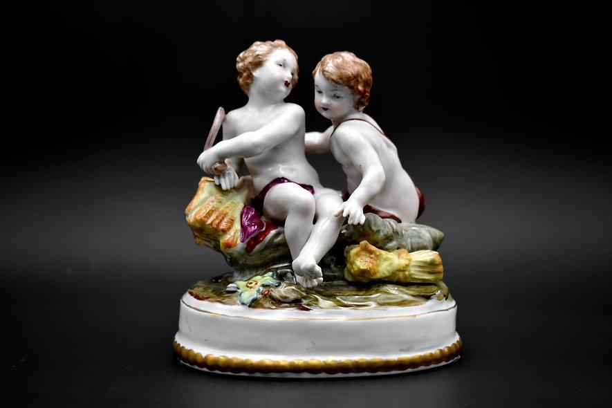 Victorian Cherub Figurine
