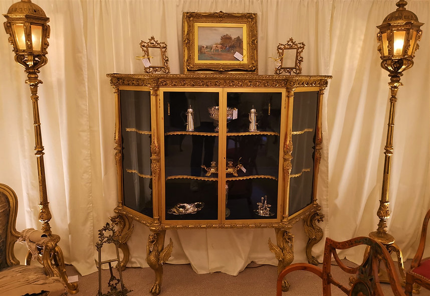 Gilded Display Cabinet
