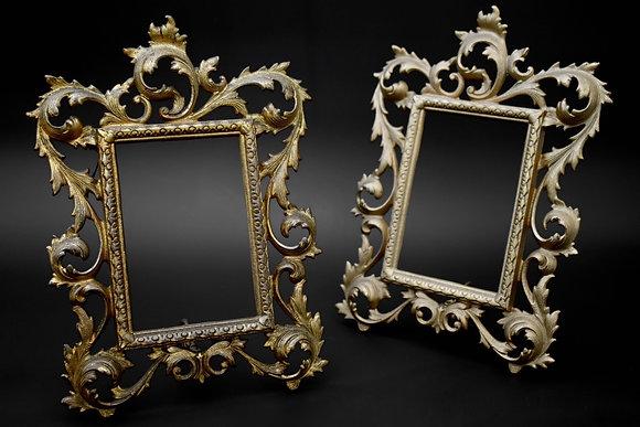 Pair Gilded Frames