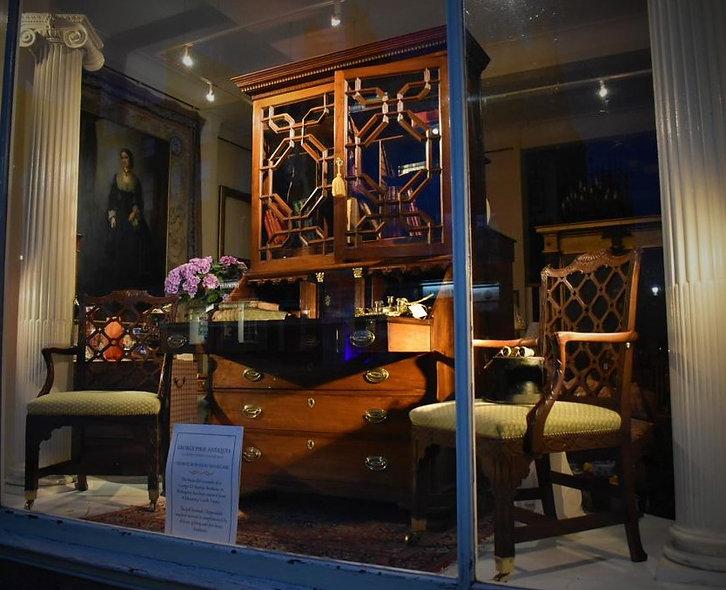 George III Bureau Bookcase